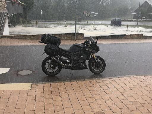 Starkregen bei Gailsdorf